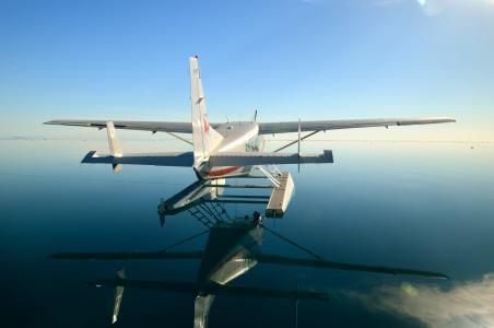 水上飞机, 海洋, 海, 假日, 昆士兰州