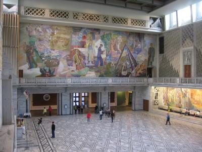 奥斯陆, 大会堂, 入口大厅, 绘画, 挪威