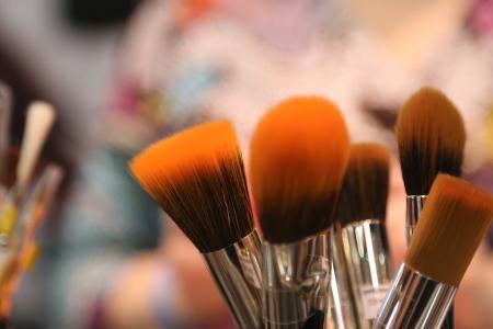 笔刷, 美容工具, 笔刷, 化妆品, 化妆, 化妆工具, 艺术工具