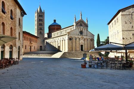 大众海运, 意大利, 托斯卡纳, 圣 cerbone 大教堂, 大教堂, 博尔戈, 宗教建筑