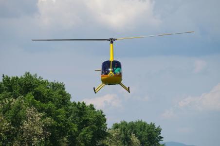 直升机, 飞, 浮法, 飞行, 运输, 飞行器, 空气