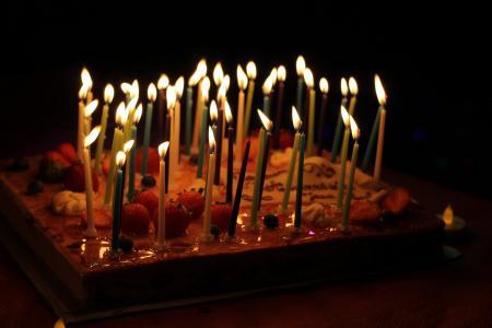 蜡烛, 节日, 生日, 儿童, 蛋糕, 甜点, 蜡烛