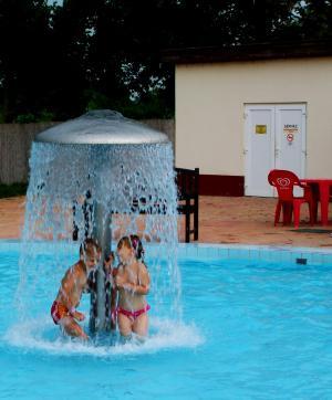 洗澡, 夏季, 儿童, 游泳池, 人, 假期, 乐趣