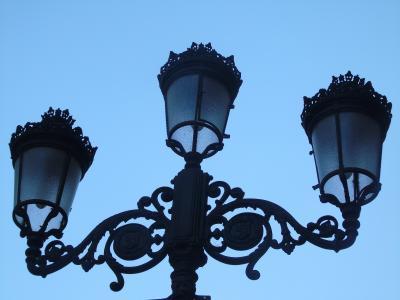 街上的路灯, 萨拉戈萨, 光