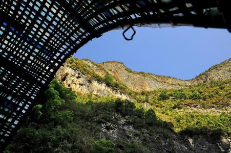 三三峡, 景观, 中国, 长江, 小三峡谷