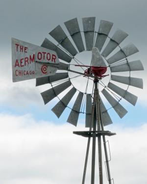 风车, 爱荷华州, 风, 农业, 能源, 农场, 泵