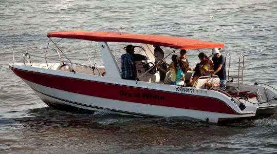 摩托艇, 人, 小船, 水上运动, 划船