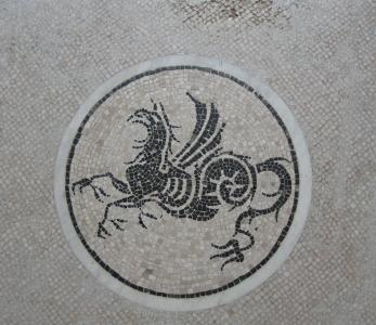 马赛克, 图稿, 石头