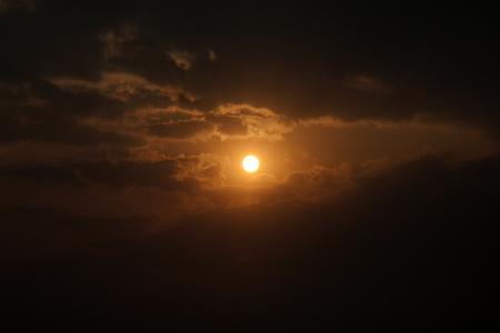日落, cloudscape, 云彩, 天气, 令人惊叹, 太阳, 阳光