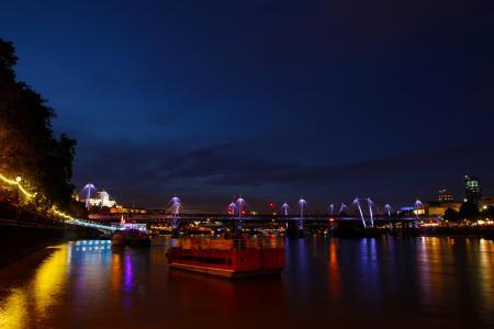 伦敦, 泰晤士河, 河, 英格兰, 城市, 具有里程碑意义, 英国