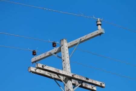 电流, 电力, 电线, 电线, 发布, 能源