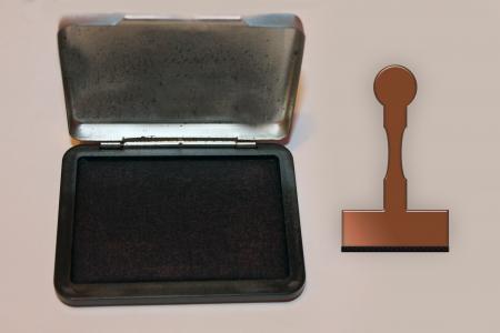 邮票垫, 邮票, 办公室, 木印章