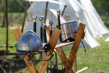 骑士, 盔甲, 掌舵, wafffen, 剑, ritterruestung, 从历史上看