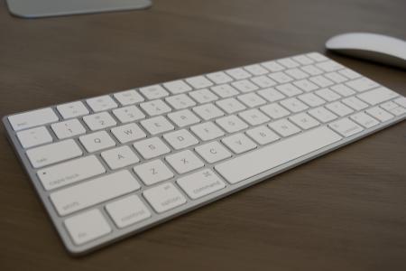 键盘, 鼠标, 苹果, 计算机, 业务, 办公室, 技术