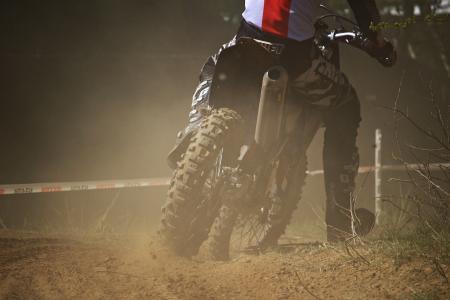 摩托车越野赛, 耐力赛, 十字架, 摩托车, 赛车, 竞赛, 沙子