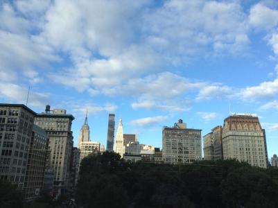 纽约, 城市, 纽约, 帝国大厦, 城市景观, 城市, 中央公园