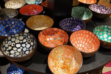 壳, 工艺, 碗, 音乐, 艺术, 画廊, 纪念品