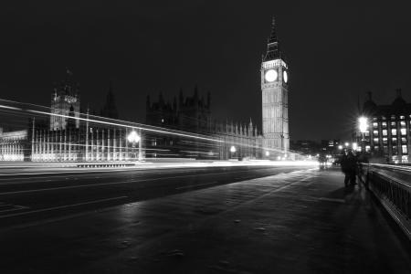 夜晚的城市, 大笨钟, 晚上, 伦敦, 城市, 大, 本