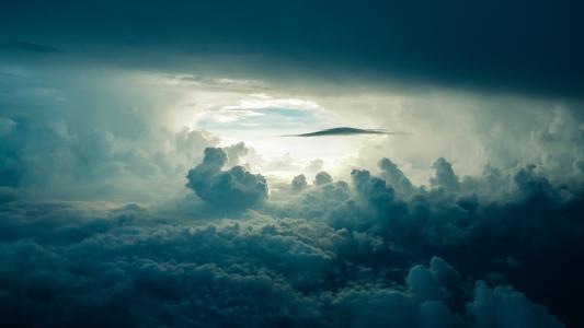 天空, 云彩, 阳光, 黑暗, 云的天空, 自然, 大气的心情