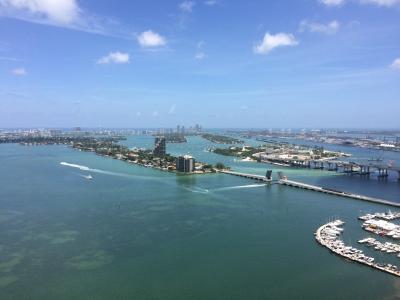 景观, 迈阿密, 海岸, 美国, 天空, 天堂
