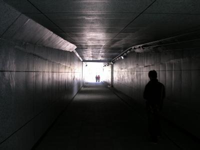 隧道, 入口, 结构, 苍凉, 退出