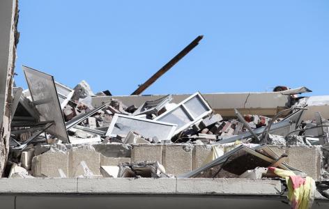 拆毁房屋, 拆迁公司, 污垢, 灰尘, 建筑废墟, 房屋拆迁