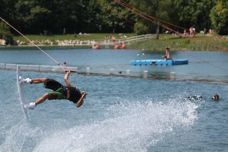 滑水, 水, 体育, 水上运动, 休闲, 海, 行动