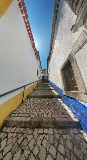 街道, 楼梯, 伊比利亚, 地中海, 村庄, 行人, 石头