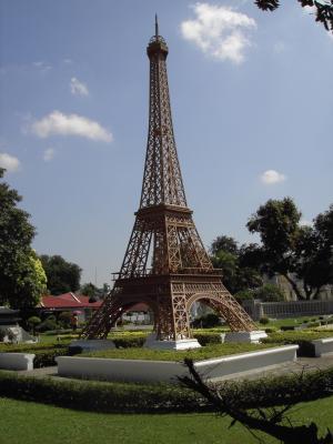 埃菲尔铁塔, 微型, 泰国, 值得一看, 建筑, 公园, 建设