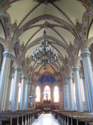 koszeg, 教会, 圣心教堂, 建筑, 大教堂, 室内, 基督教