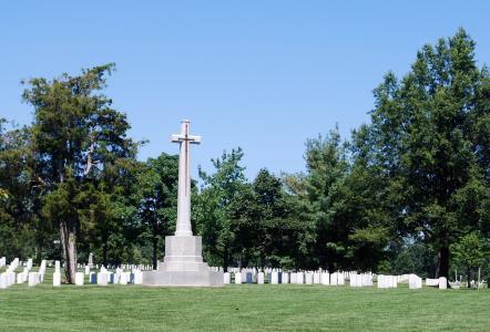 顿, 国家, 公墓, 华盛顿, 纪念, 纪念碑, 弗吉尼亚州