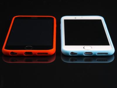 ios, 新增功能, 移动, 小工具, 垫, 智能手机, 时间