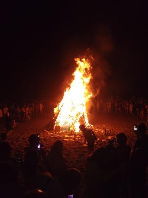 圣泡良族夜, 篝火, 消防, 火焰, 热, 烧伤, 篝火