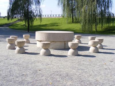 艺术, 布朗库西, 椅子, 顿, 自决, 罗马尼亚, 雕塑