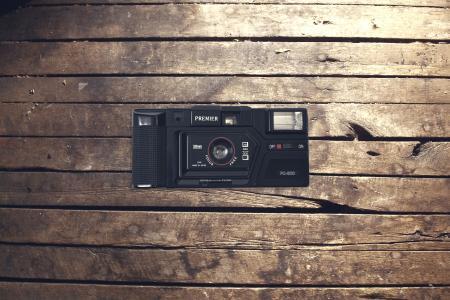 年份, 相机, 木材, 工作, 复古, 老, 技术
