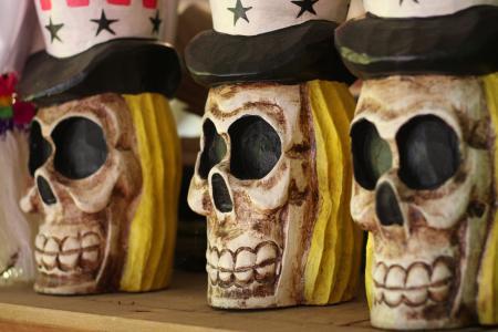 头骨, 山姆大叔头骨, 万圣节, 死亡