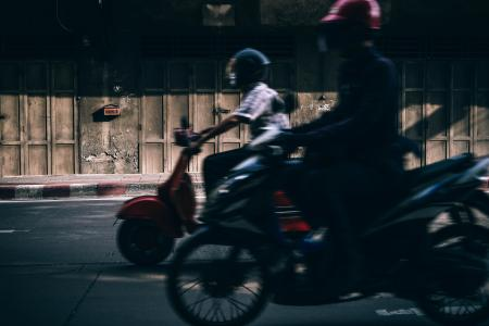 摄影, 摩托车, 街道, 机动车辆, 速度, 摩托车, 运输
