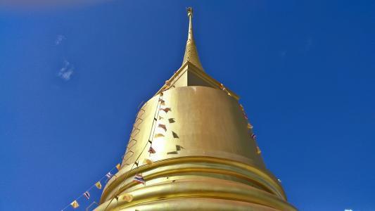 泰国, 旅行, 寺, 苏梅岛