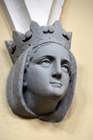 雕塑, 玛丽亚, 图, 麦当娜, 雕像, 教会, 建筑