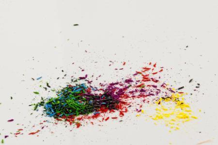 颜色, 钢笔, 多彩, 彩色的铅笔, 指出, 斯皮策, 彩色铅笔