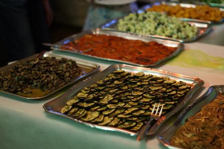 开胃, 自助餐, 美味, 晚餐, 凉的自助餐, 吃, 食品