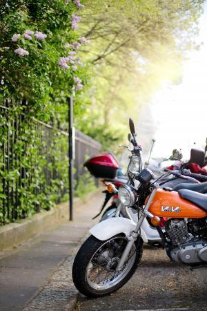 摩托车, 摩托车, 车辆, 自行车, 运输