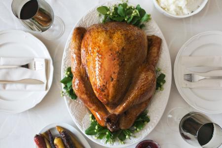 土耳其晚餐设置
