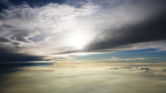 云彩, cloudscape, 高清壁纸, 自然, 户外, 云海, 天空
