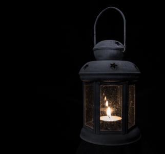 灯, 光, 茶灯, 低, 蜡烛, 火焰, 照明设备