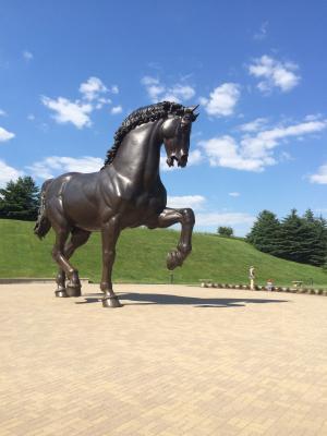 马, 特洛伊木马, 雕像, 动物