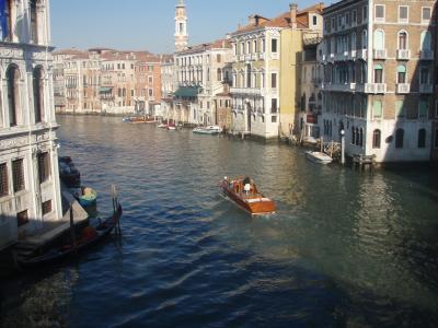 威尼斯, 通道, 吊船