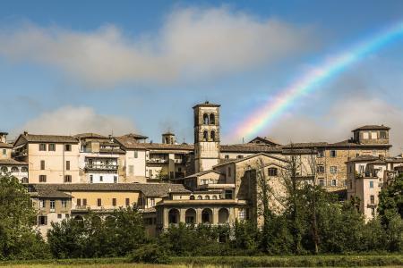 列蒂, 城市, 彩虹