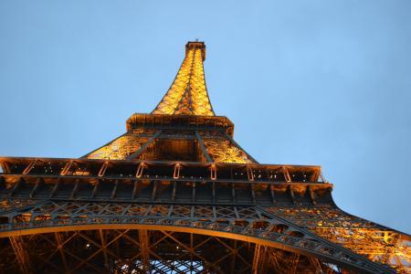 巴黎, 埃菲尔铁塔, 法国, 建筑, 塔, 旅游目的地, 旅行
