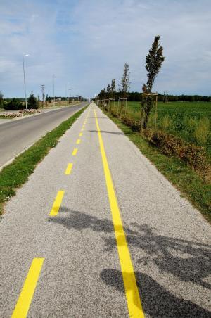 自行车径, 路径, 联, 溜冰鞋, 一轮, 道路, 沥青